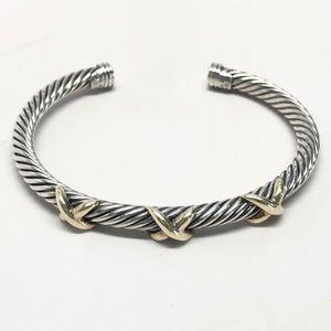 David Yurman Triple X Cable Classic Bracelet